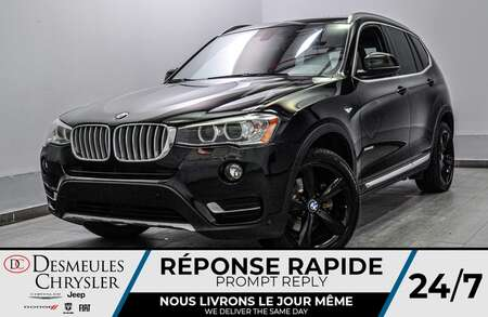 2017 BMW X3 xDrive28i *TOIT OUVRANT * BLUETOOTH for Sale  - DC-S2167  - Desmeules Chrysler