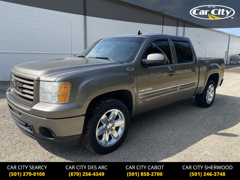 2012 GMC Sierra 1500 SLT 4WD Crew Cab  - CG311742  - Car City Autos