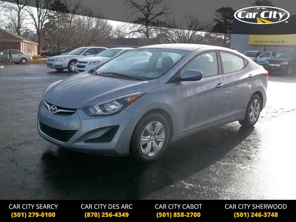 2016 Hyundai Elantra  - Car City Autos
