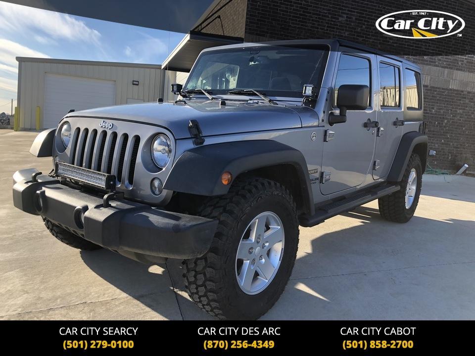 2015 Jeep Wrangler Sport 4WD  - FL506371  - Car City Autos