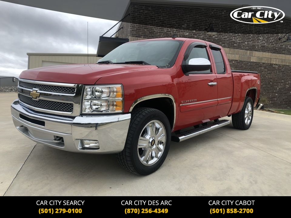 2012 Chevrolet Silverado 1500 LT 4WD Extended Cab  - CZ178360  - Car City Autos