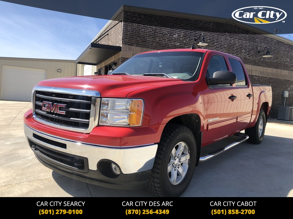 2011 GMC Sierra 1500 SLE 4WD Crew Cab  - BG364337  - Car City Autos