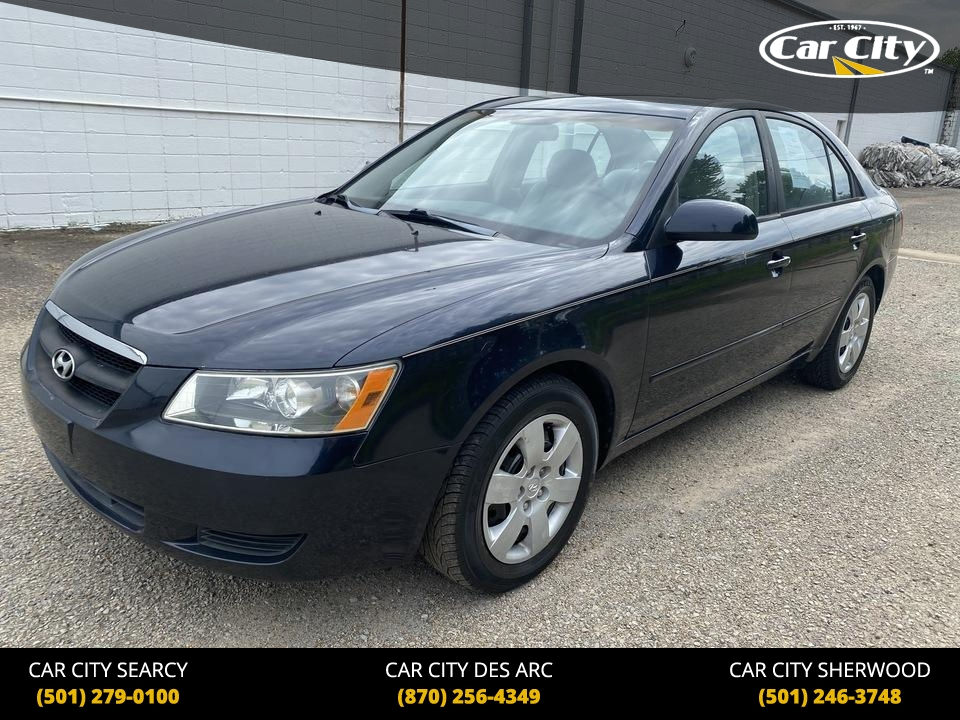 2007 Hyundai Sonata GLS  - 7H262232  - Car City Autos