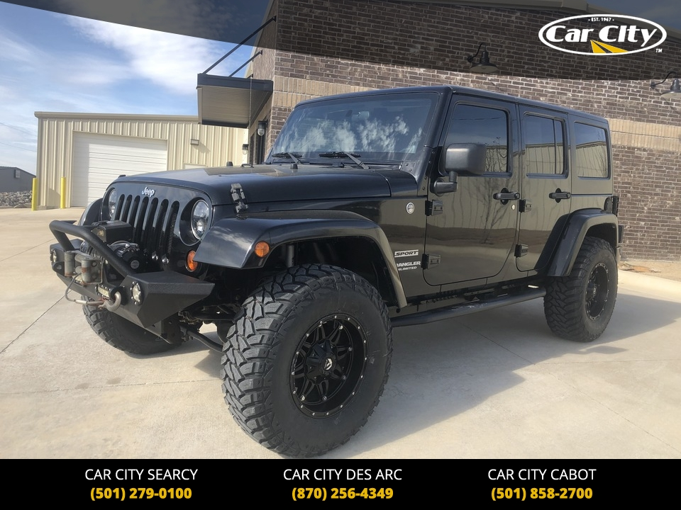2011 Jeep Wrangler  - Car City Autos
