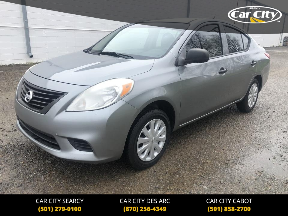 2012 Nissan Versa  - Car City Autos