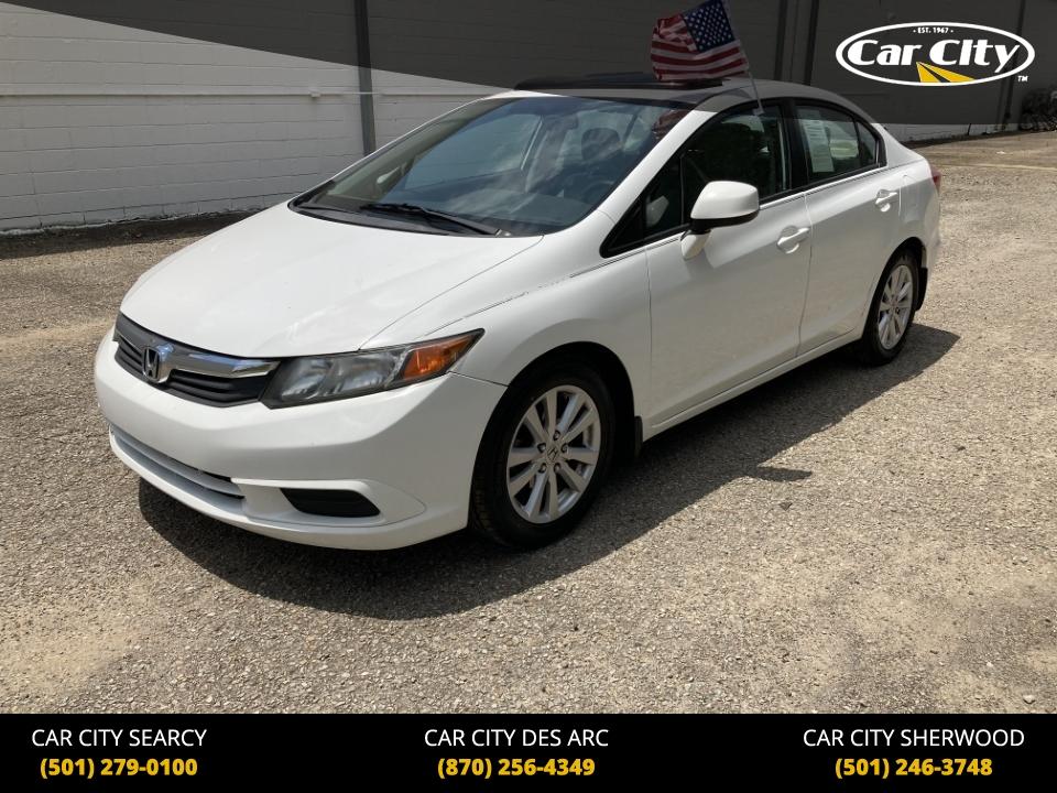 2012 Honda Civic EX  - CH326072  - Car City Autos