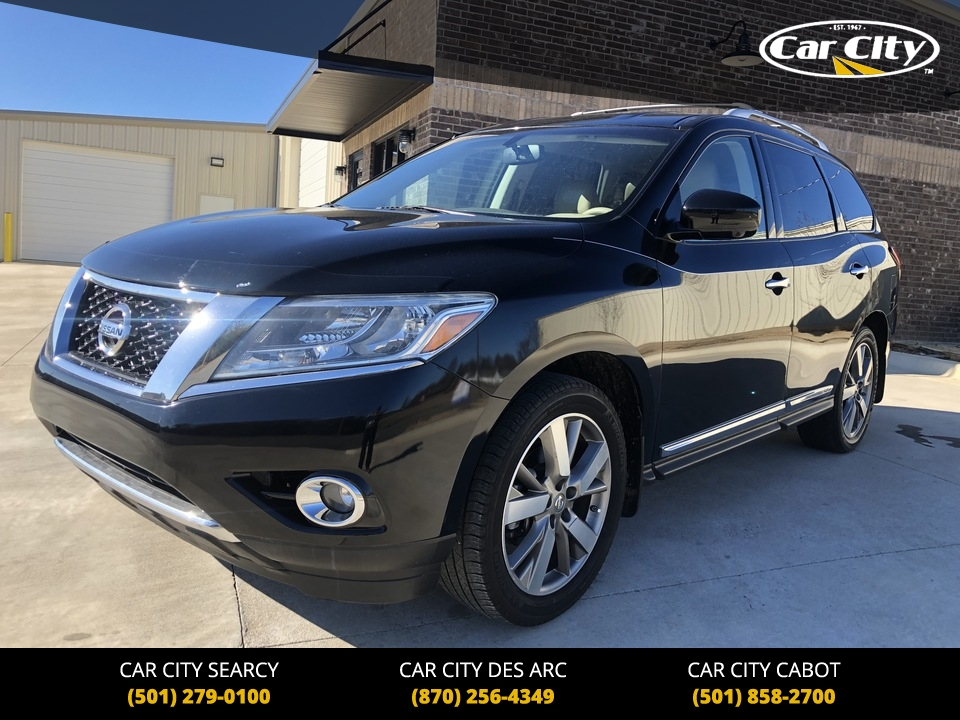 2013 Nissan Pathfinder Platinum 2WD  - DC648473  - Car City Autos