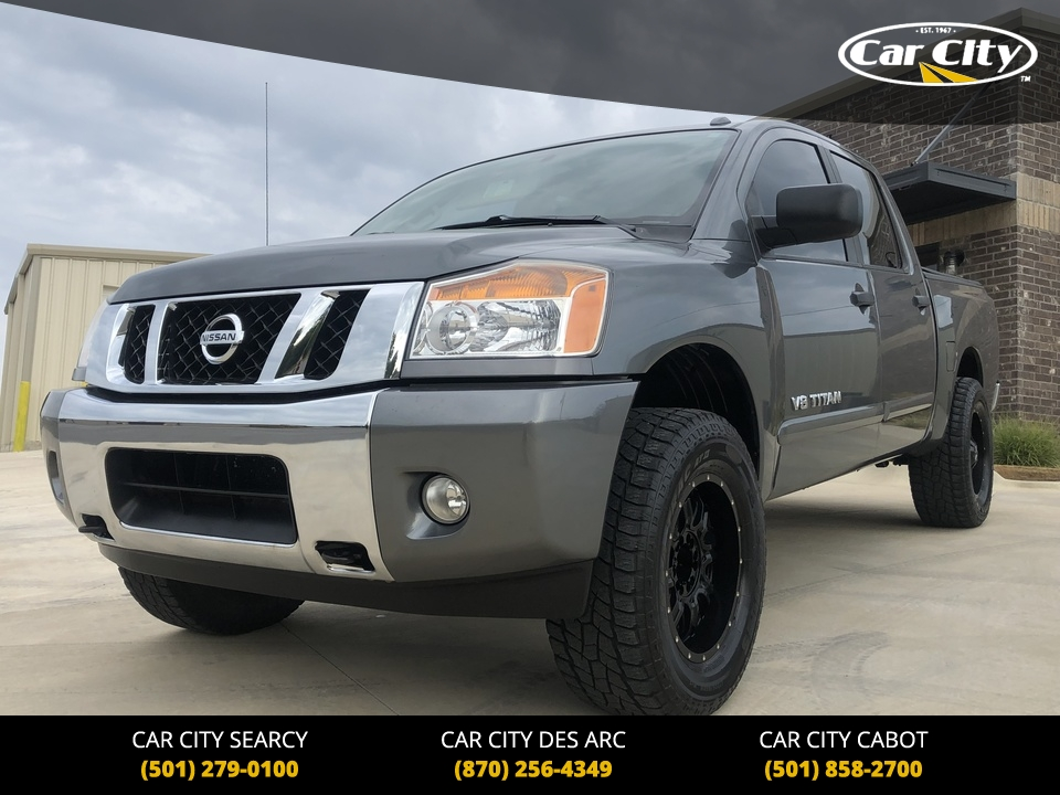 2014 Nissan Titan SV 4WD Crew Cab  - 509989  - Car City Autos