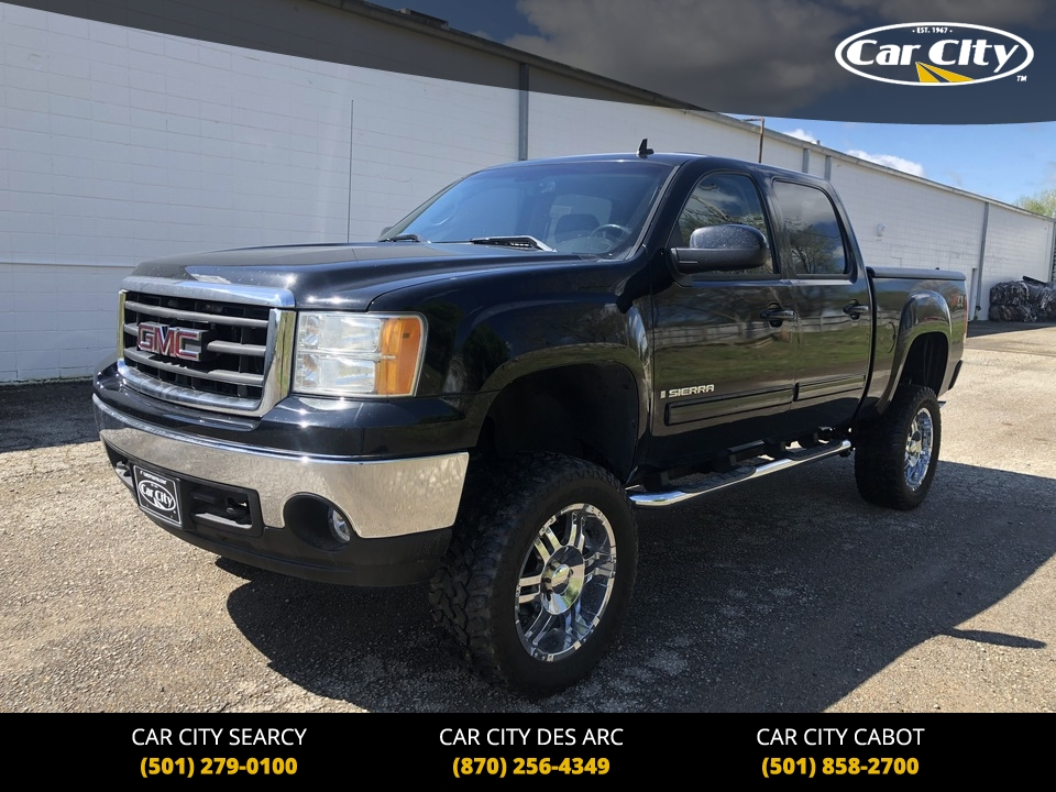 2007 GMC Sierra 1500 SLT 4WD Crew Cab  - 71553742  - Car City Autos