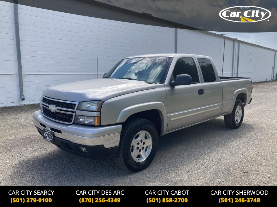 2006 Chevrolet Silverado 1500 LT2 4WD Extended Cab  - 6Z191858  - Car City Autos