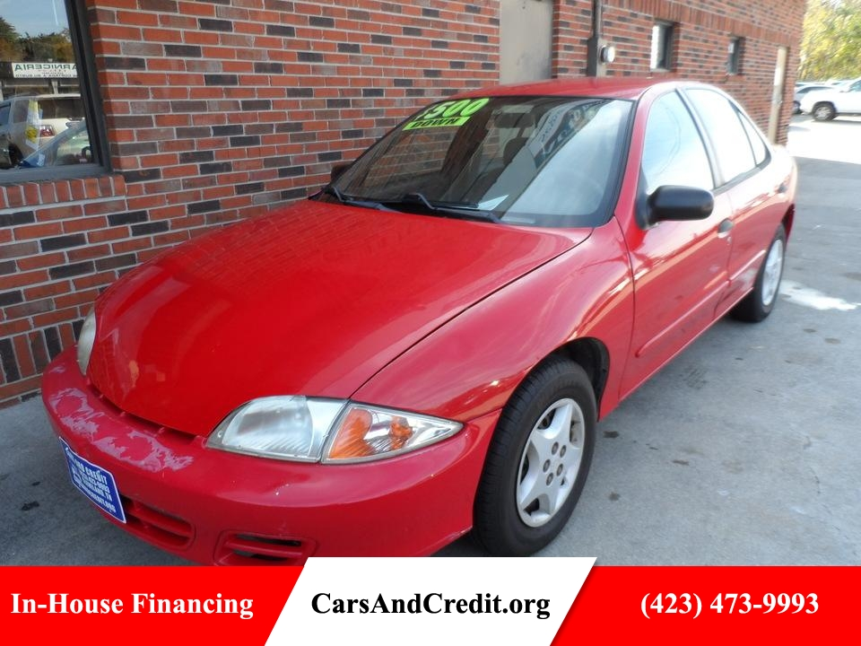 2002 Chevrolet Cavalier  - Cars & Credit