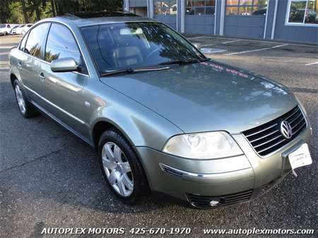 2002 Volkswagen Passat GLX 4Motion for Sale  - 10681  - Autoplex Motors