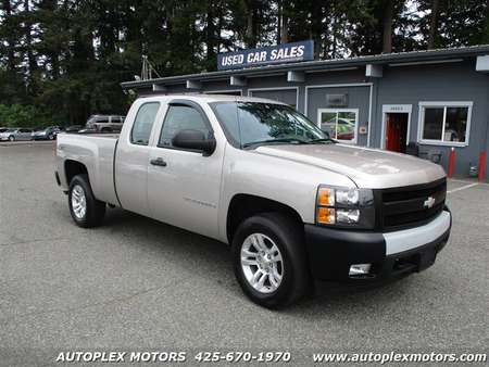 2008 Chevrolet Silverado 1500 Work Truck 4WD Extended Cab for Sale  - 12003  - Autoplex Motors