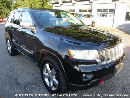 2011 Jeep Grand Cherokee Overland 4WD for Sale  - 12154  - Autoplex Motors