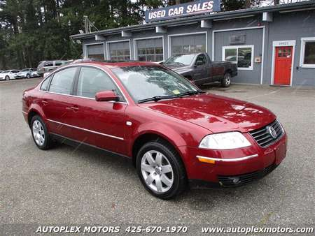 2002 Volkswagen Passat GLX 4Motion for Sale  - 12230  - Autoplex Motors