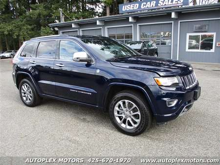 2015 Jeep Grand Cherokee Overland 4WD for Sale  - 12266  - Autoplex Motors