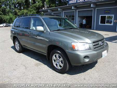 2006 Toyota Highlander 4WD for Sale  - TR10396  - Autoplex Motors