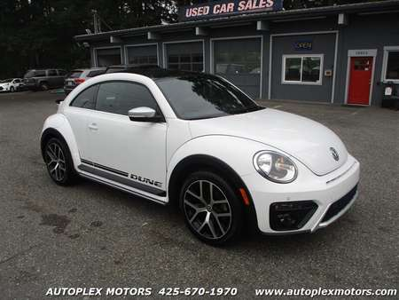 2016 Volkswagen Beetle Coupe 1.8T Dune PZEV for Sale  - 12380  - Autoplex Motors