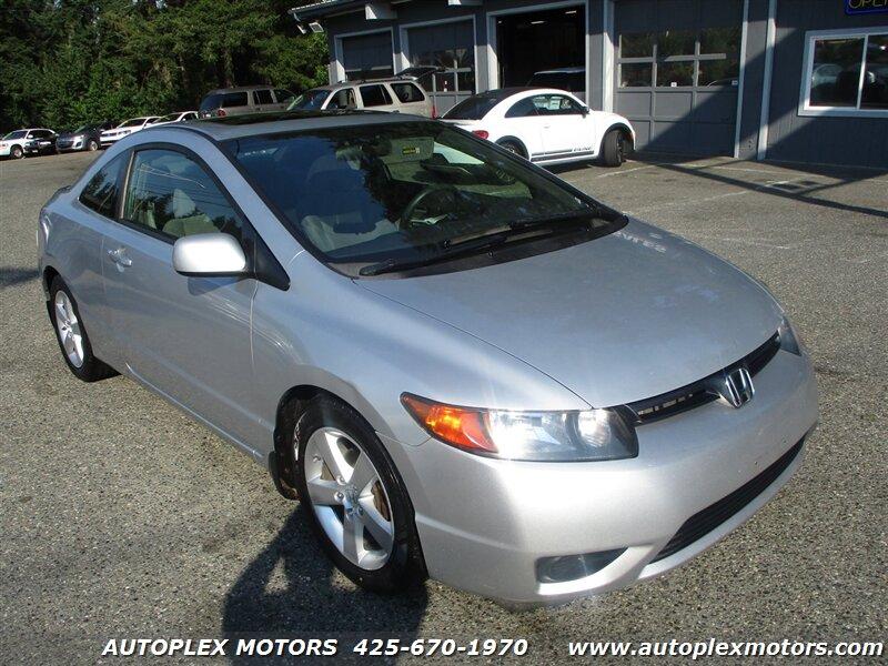 2008 Honda Civic Cpe EX  - 12384  - Autoplex Motors