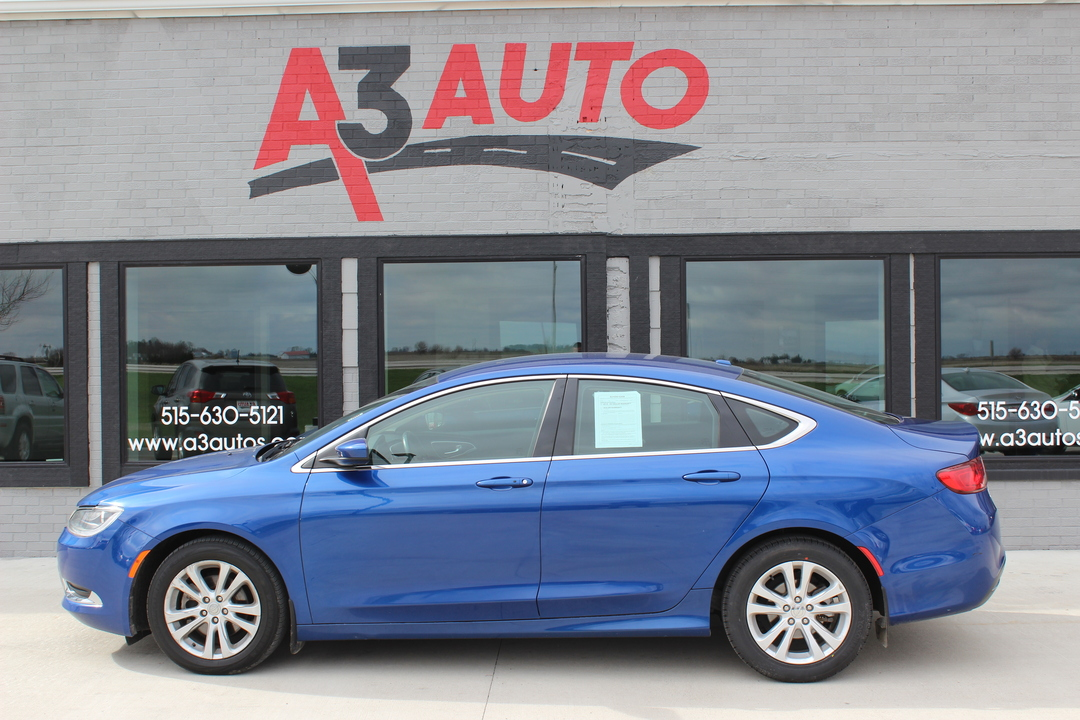 2015 Chrysler 200 Limited  - 573  - A3 Auto