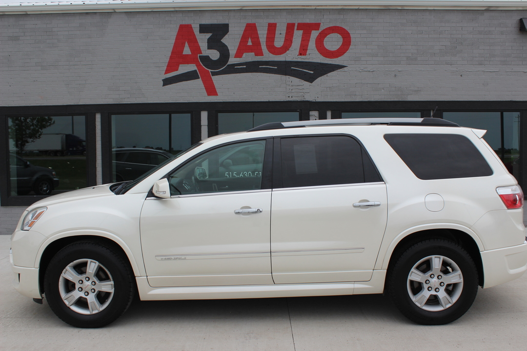 2012 GMC Acadia Denali All Wheel Drive  - 343  - A3 Auto