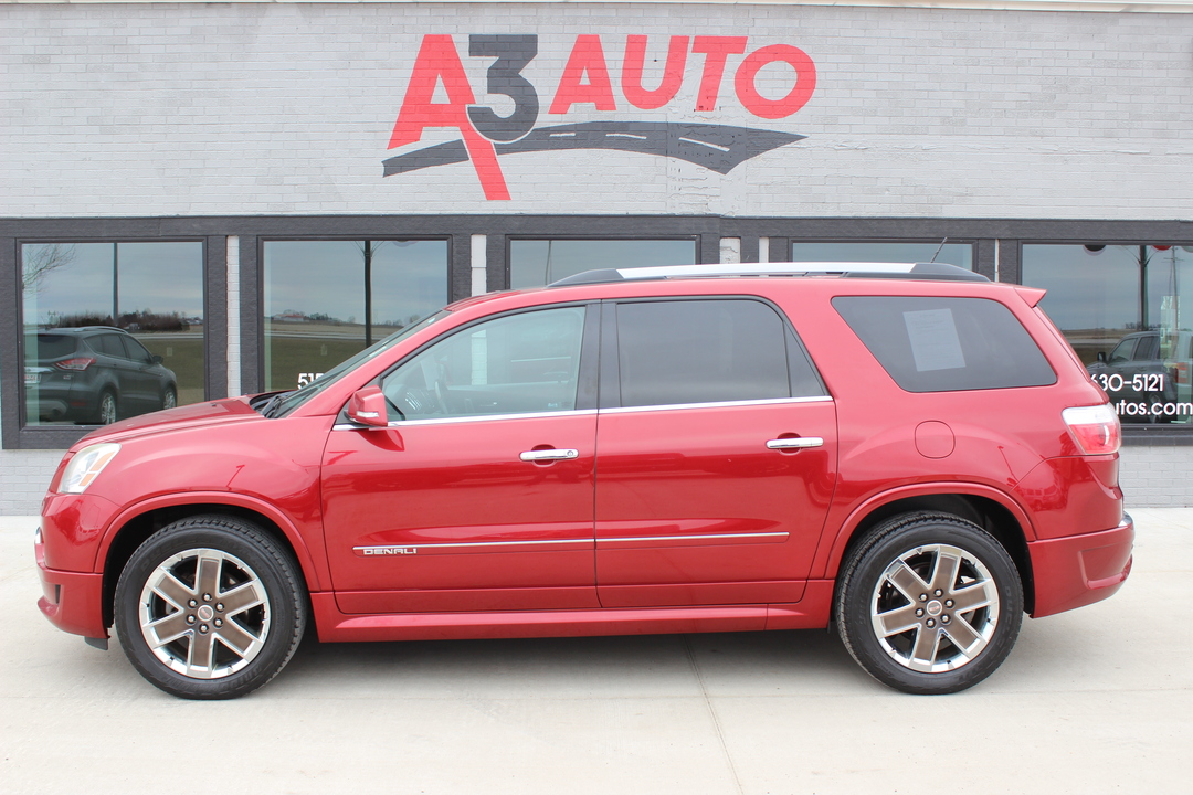 2012 GMC Acadia Denali Front Wheel Drive  - 560  - A3 Auto