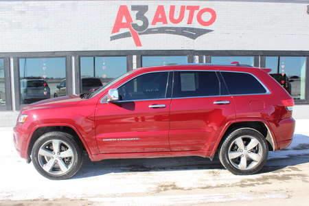 2014 Jeep Grand Cherokee Overland 4X4 for Sale  - 234  - A3 Auto