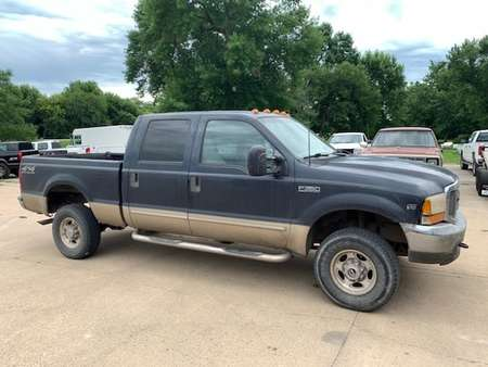 2000 Ford F-350 Lariet-crewcab 4x4 gas for Sale  - 0  - Exira Auto Sales