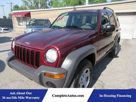 2003 Jeep Liberty Sport 2WD for Sale  - P15387  - Complete Autos