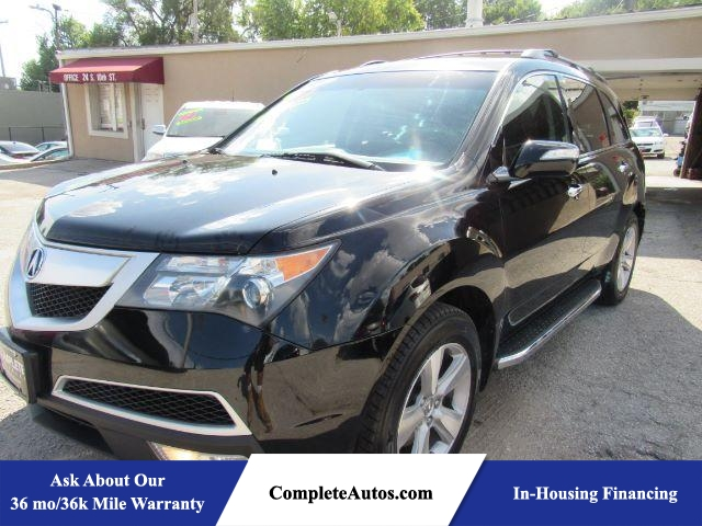 2012 Acura MDX 6-Spd AT AWD  - P15657  - Complete Autos