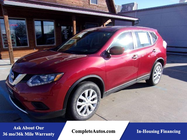 2016 Nissan Rogue S 2WD  - A3076  - Complete Autos