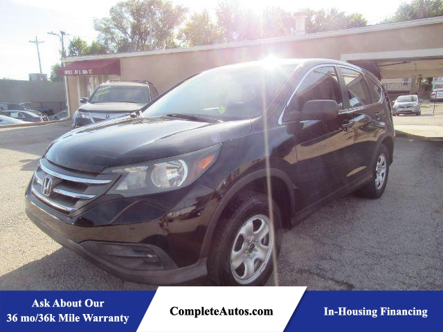 2014 Honda CR-V LX 4WD 5-Speed AT AWD  - P15668  - Complete Autos