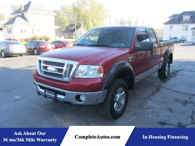2008 Ford F-150 XL SuperCab Long Box 4WD  - R3053  - Complete Autos
