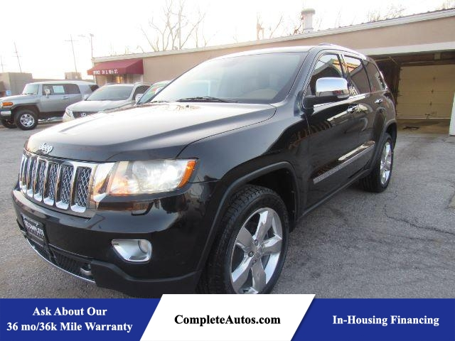 2013 Jeep Grand Cherokee Overland 4WD  - P15822  - Complete Autos
