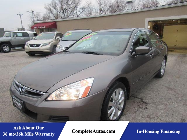 2007 Honda Accord EX-L V-6 Sedan AT  - P15805  - Complete Autos