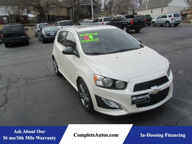 2014 Chevrolet Sonic RS Auto 5-Door  - A3180  - Complete Autos