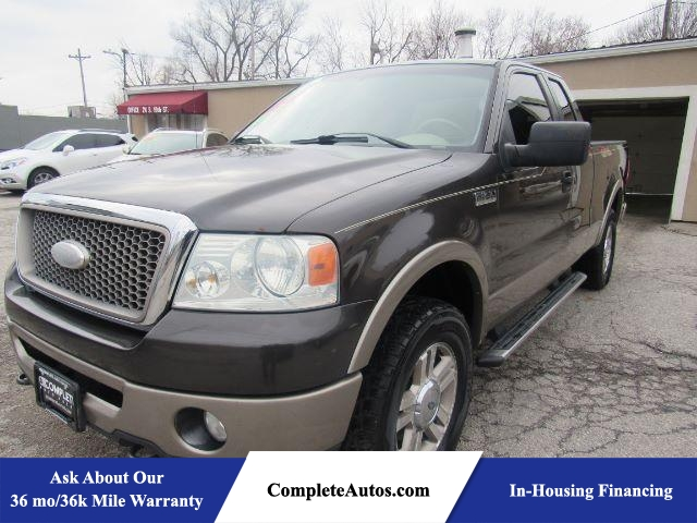 2006 Ford F-150 Lariat SuperCab 4WD  - P15833  - Complete Autos