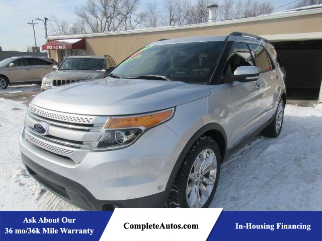 2013 Ford Explorer Limited FWD  - P15910  - Complete Autos
