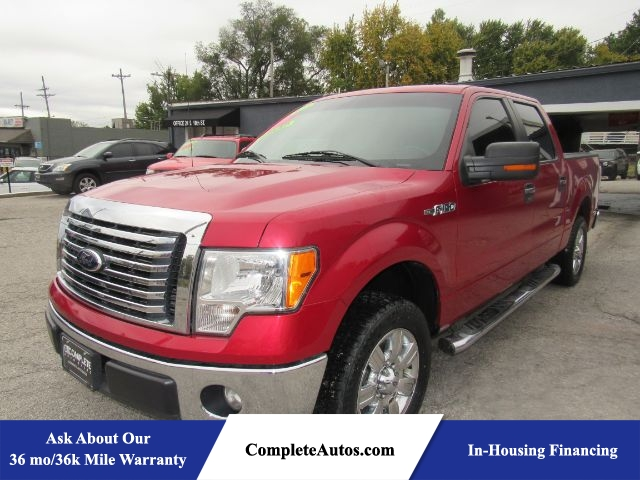 2012 Ford F-150 XLT SuperCrew 5.5-ft. Bed 2WD  - P16296  - Complete Autos