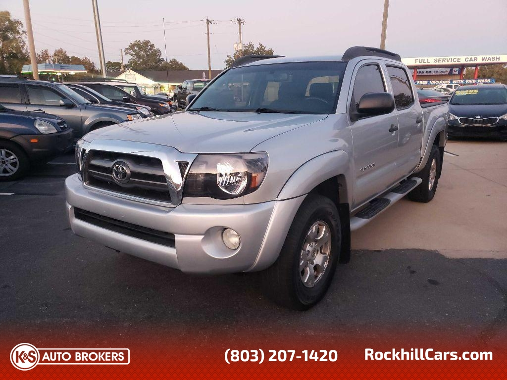 2010 Toyota Tacoma DOUBLE CAB 4WD  - 2720  - K & S Auto Brokers