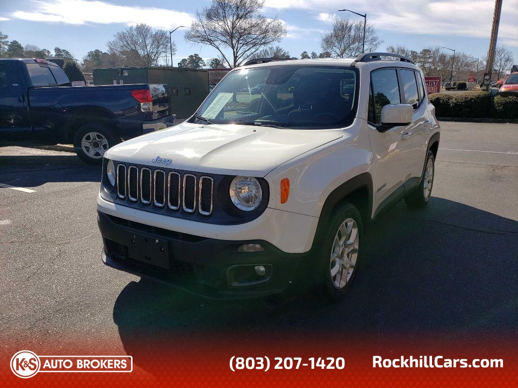 2016 Jeep Renegade LATITUDE  - 2820  - K & S Auto Brokers