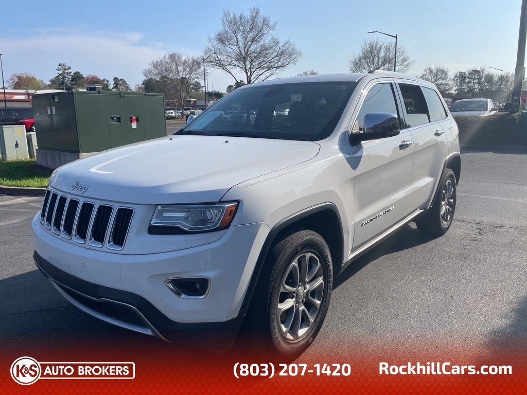 2014 Jeep Grand Cherokee LIMITED  - 2836  - K & S Auto Brokers