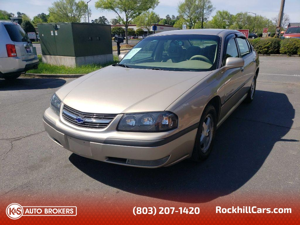 2002 Chevrolet Impala LS  - 2883  - K & S Auto Brokers