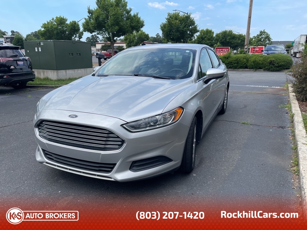 2014 Ford Fusion S  - 2970  - K & S Auto Brokers