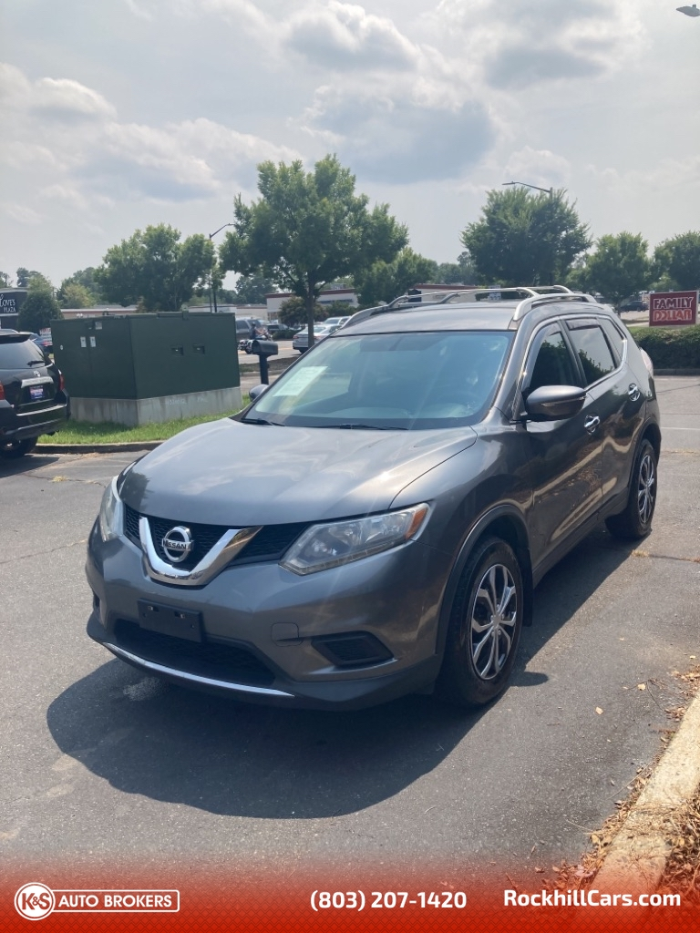 2014 Nissan Rogue S AWD  - 3023  - K & S Auto Brokers