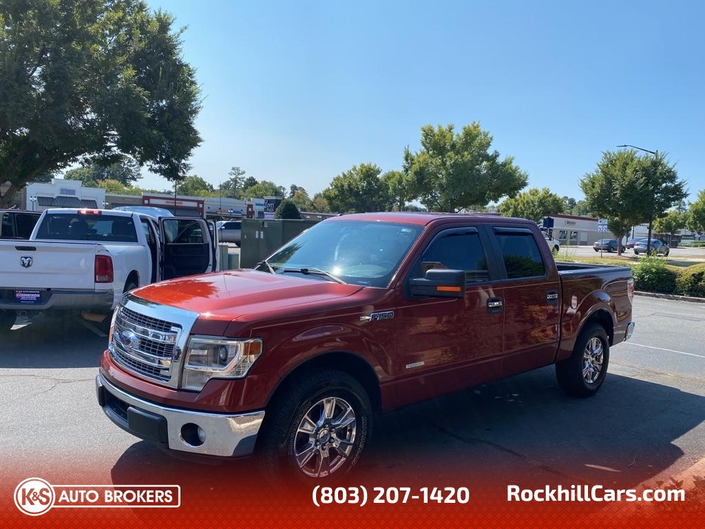 2014 Ford F-150 SUPERCREW 2WD  - 3067  - K & S Auto Brokers
