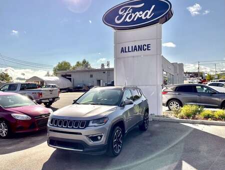 2018 Jeep Compass Limited for Sale  - 21230A  - Alliance Ford