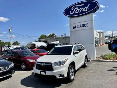 2015 Toyota Highlander Limited AWD for Sale  - 21270A  - Alliance Ford