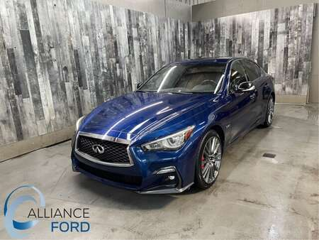 2018 Infiniti Q50 Red Sport 400 AWD for Sale  - C3528  - Alliance Ford