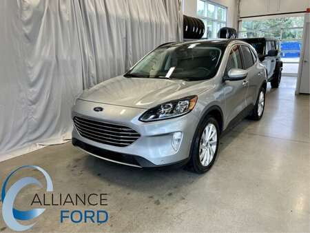 2021 Ford Escape Titanium Hybrid for Sale  - 21213  - Alliance Ford